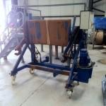 Hydraulic Bin Lifter