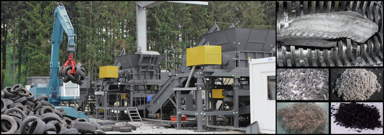 Tyre shredder systems | AWC Engineering